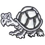 3-D Sticker Mini, Bicolor Schildkröte, 5 x 5 cm