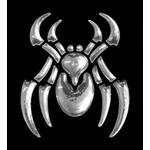 3-D Sticker Mini, Spider, 5 x 5 cm