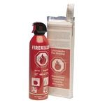 Feuerlöschset NoFir (Firekiller, 400 ml und Löschdecke 1 m²)