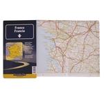 Strassenkarte Plus Frankreich