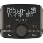 Adattatore autoradio PURE HighWay 600 DAB+ con riproduzione musicale Bluetooth, controllo Spotify e chiamate in vivavoce ND