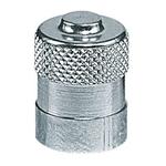 Rundkopf-Ventilkappen aus Metall, Typ: lang
