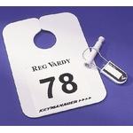 Keymanager Spiegelschild mit Nummer und Aufdruck