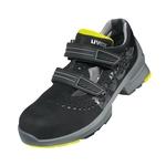 Sicherheitsschuhe uvex1 Sandale, schwarz/gelb, S1 SRC, Grösse 41