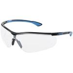 Uvex Schutzbrille Sportstyle AR, schwarz-blau