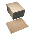 Protège-tapis jetables en papier crêpe, 50 x 37.5 cm, emballage de 250 pièces