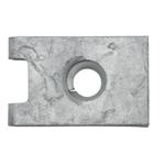 Blechmutter Ø4,8 mm, Stärke 0,5-1,7 mm