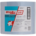 KIMBERLY-CLARK Wypall L10 Extra 7472, Grossrolle, blau, 1-lagig, 1 Rolle