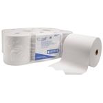 KIMBERLY-CLARK SCOTT® 6667, essuie-main, blancs, paquets de 6 rouleaux
