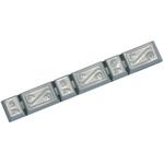 HOFMANN Peso equilibrante adesivo senza piombo 363-7, 45 g