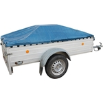 Gepäck- und Universalplane, mit Ösen und verstärktem Rand, 2 x 2 m