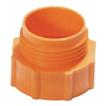 "Adaptateur filetage fût IG 2"" - AG 1 1/2"" Trisure gros orange"