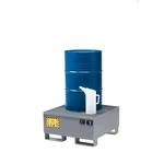 FILCAR Bac de rétention pour 1 fût OD-ST-301, 86x86x43 cm, 65 kg