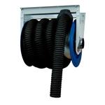 FILCAR arrotolatore meccanico con tubo gas di scarico 10m/100mm e fermatubo  ARC-100/10D