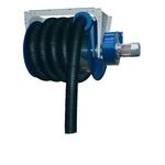 FILCAR arrotolatore meccanico per camion/bus con tubo 10m/150mm, fermatubo e aspiratore 0.75kW, senza imbuto ACA-150/10-SB