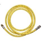 KLITECH Klimaschlauch für Gasdruckprüfsets R1234yf, gelb, 200 cm 110110