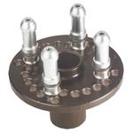 CEMB plaque de serrage combinée 5 40 mm Ø trous SR 5/2