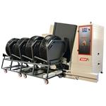 Automatische Hochdruck-Radwaschmaschine REDDY@4 mit Abwasserpumpe