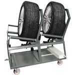 Einzel-Wagen für automatische Hochdruck-Radwaschmaschine REDDY@4