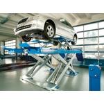 NUSSBAUM UNI Lift 3500 Quattro NT PLUS, INOX DESIGN - Unterflurversion - Schienenlänge 4'500 mm