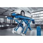 NUSSBAUM UNI Lift 5000 NT, Überflurversion mit glatter Fahrbahn ohne pneumatischer Klinke, Schienenlänge 5'000 mm