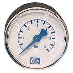 "CEJN Manometer R 1/8"" Aussengewinde, Ø 50 mm, 0-12 bar"