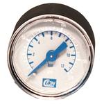 "CEJN Manometer R 1/8"" Aussengewinde, Ø 40 mm, 0-12 bar"