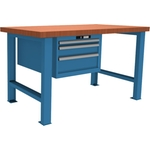 LISTA Werkbank Selection 1500 x 800 x 850 mm, blau, 59213010