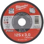 MILWAUKEE Metalltrennscheibe Ø 125 mm, SC41 3 mm, PRO+, 1 Stück