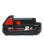 MILWAUKEE M18 B2 accu 18 V / 2.0 Ah Li-Ion
