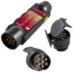 KRAFTWERK Appareil de contrôle pour prises de remorque 7 ou 13-pole 31133