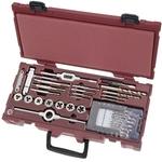 KRAFTWERK 42-teiliger Bohr-Gewindeschneidwerkzeug-Koffer COMPLETO 4900-59K