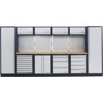 KRAFTWERK Mobilio 6-Element-Werkstatt-Schrankwand 3964F
