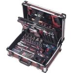 KRAFTWERK Profi-Alu-Werkzeugkoffer mit BOSCH Akku-Schrauber 3949