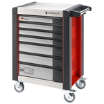STAHLWILLE Chariot d'outils 95VA/7R rouge