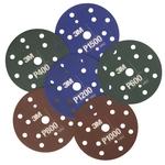 3M Hookit Flexible Schleifscheiben 15 Loch, 150 mm, Korn 800, braun, Pack à 25 Stück