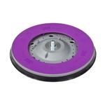 3M Hookit Direct Flow II Schleifteller / Multihole, Ø 150 mm, grau, Standard, M8, 1 Stück (51123)