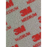3M Schaumstoff-Pad fine, Korn 280, 140 × 115 × 5 mm