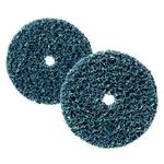 3M Disco di pulitura grossa CG-DC blu, 100 x 13mm