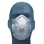 3M Maschera antiparticolato P2 con valvola, pacco da 10 pezzi
