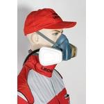3M Semimaschera di protezione delle vie respiratorie, serie 7500, misura M, senza filtro