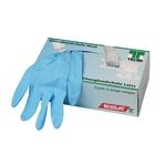 TECAR Handschuhe Nitril, blau, gepudert, Grösse M, 100 Stk.