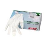 TECAR Handschuhe Latex, transparent, gepudert, Gr. XL, 100 Stk.