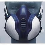 3M Maschera verniciatura a spruzzo A2P3 (blu) 06942
