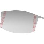 3M Films protecteurs de visière pour coiffes pour protection du visage M-106, paquet de 10 pièces