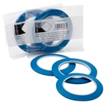zaphiro Konturenband, blau, 12 mm x 33 m