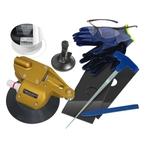 Scheibenaustrennsystem Premium mit Getriebe, 1 Set
