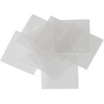 KSA Mylarplättchen, ca. 25 x 25 mm, 20 Stück