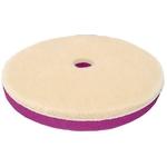 Zvizzer Doodle Wool-Pad, Ø 135x15 mm, blanc, paquet de 2 pièces