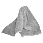 zaphiro Microfasertuch, grau, 40 x 40 cm, Pack à 2 Stück